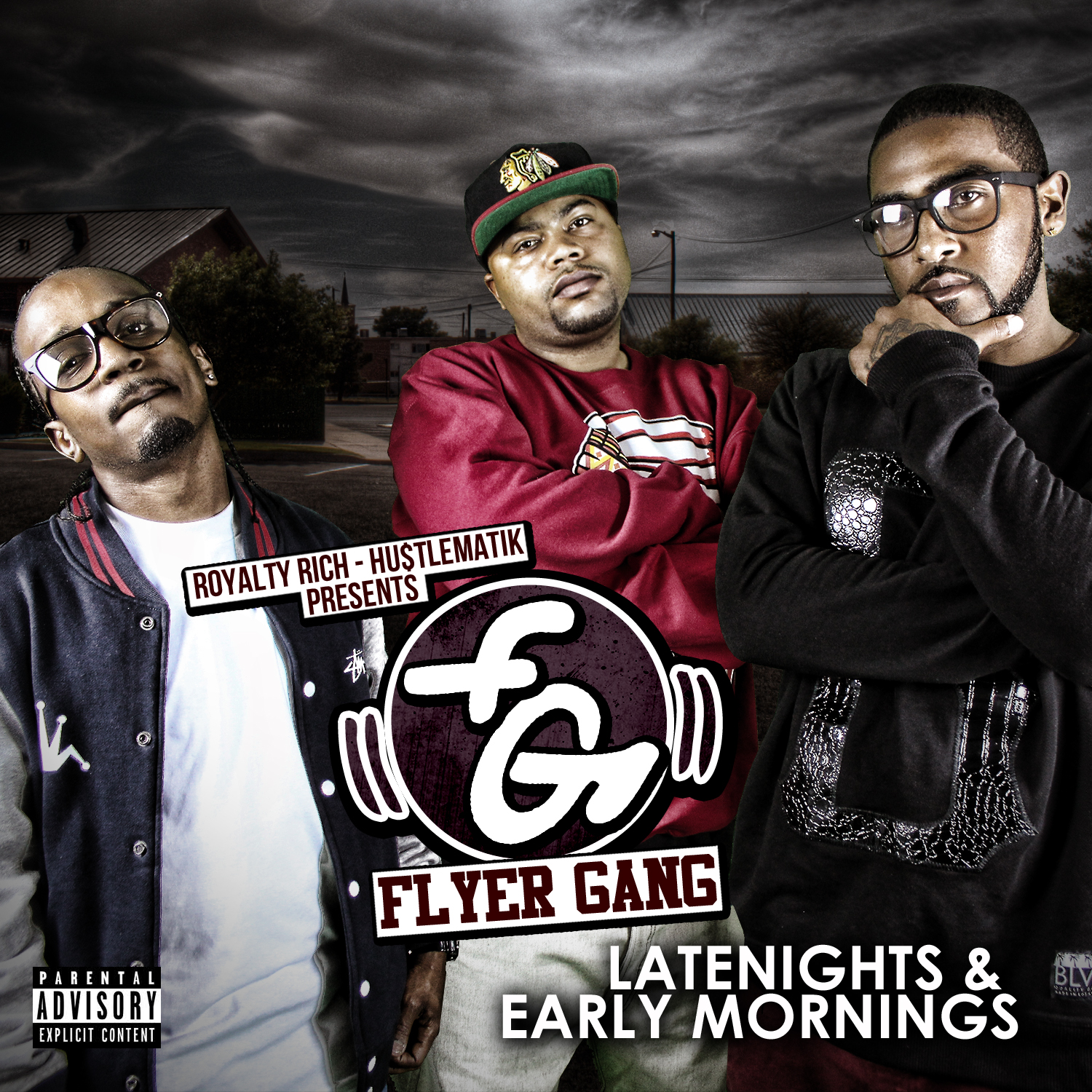 Flyer Gang - Late Nights & Early Mornings COVER