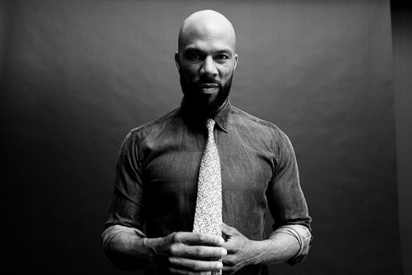 Chicago rapper Common has pledged financial support for a government-funded CHARTER SCHOOL