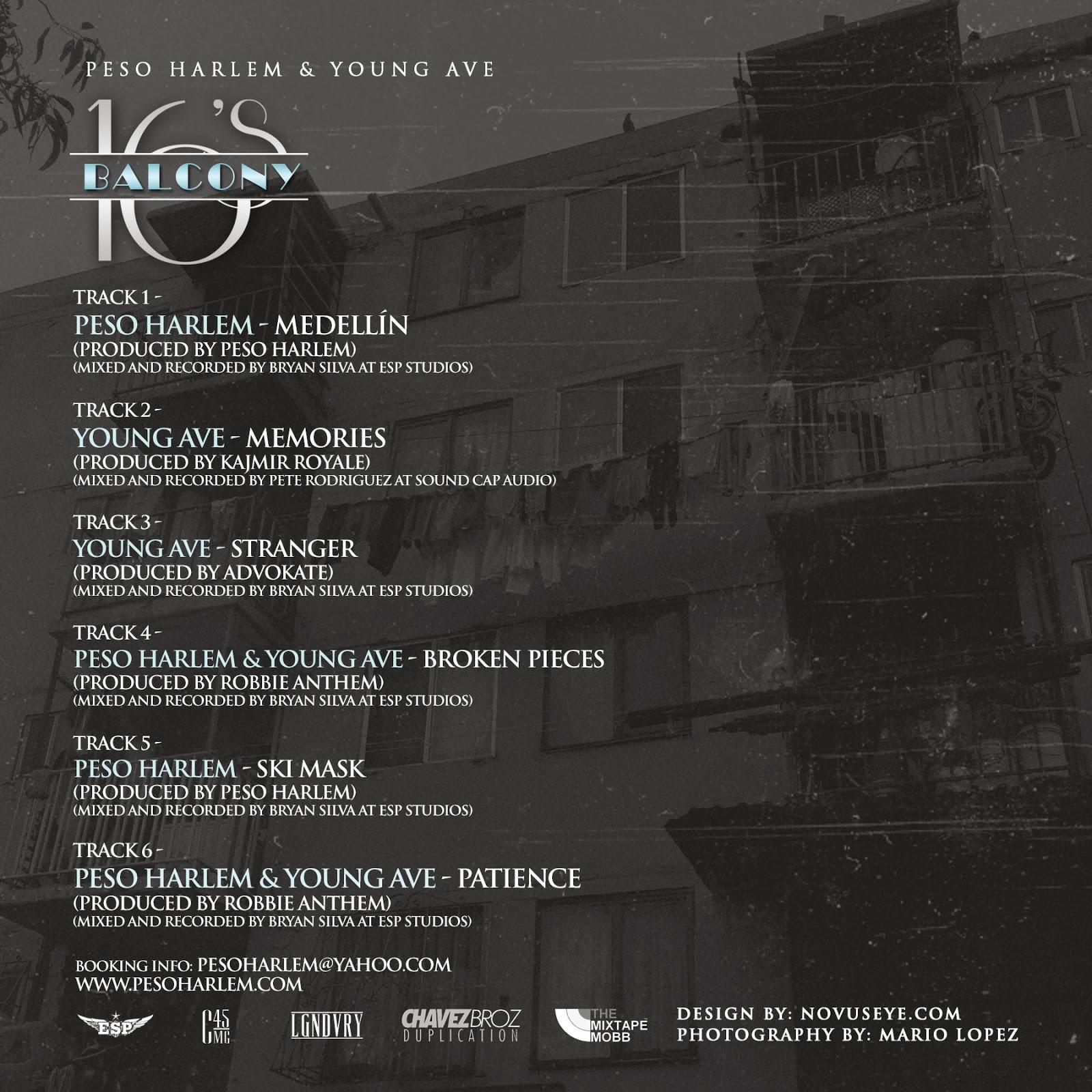 peso-harlem-young-ave-balcony-16-tracklist