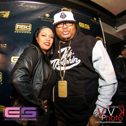 Tracy Stevens and E40