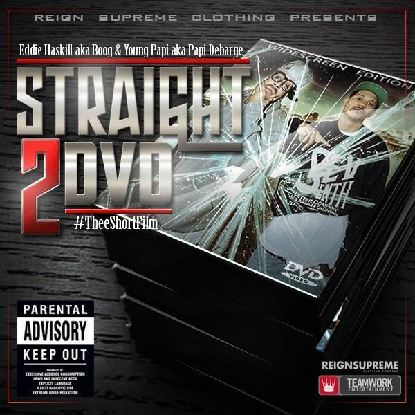 Straight TO DVD Cover