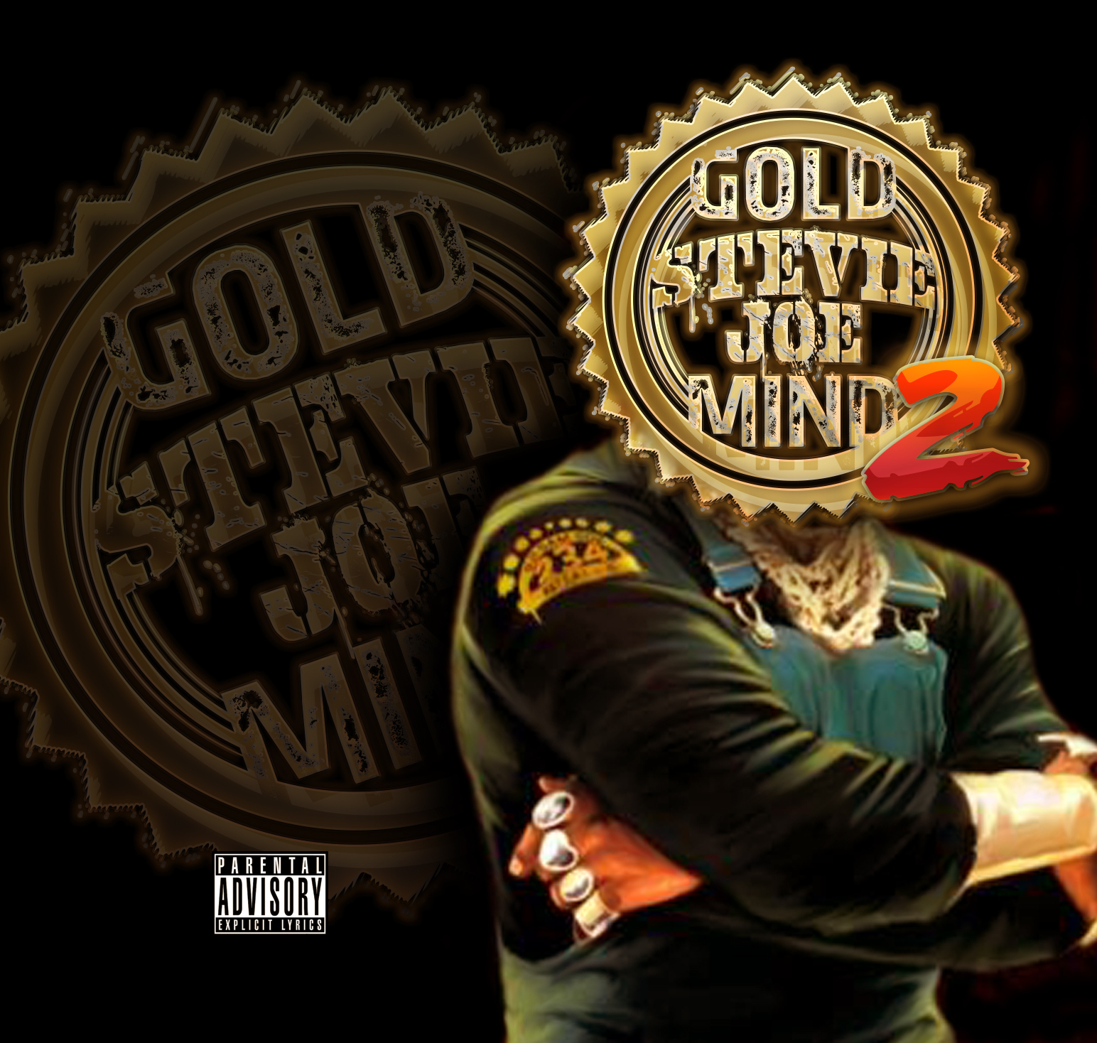 Stevie Joe - Gold Mind 2 (FrontCover)
