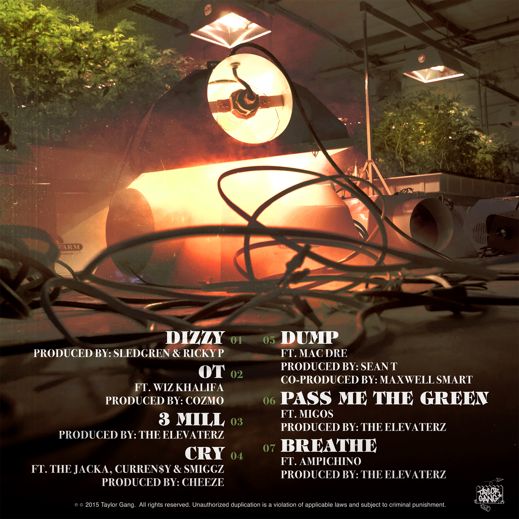 20 Lights Tracklist & Prod. Credits