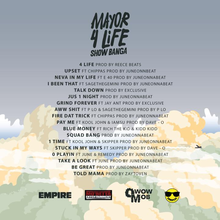 Mayor 4 Life - Tracklist