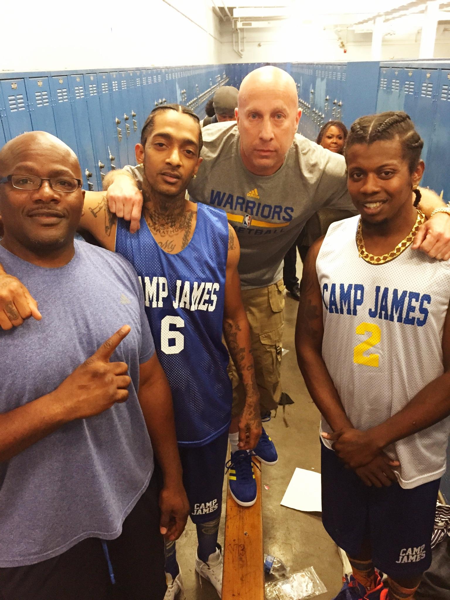 Big U Nipsey Hussle Steve Lobel and Trinidad James