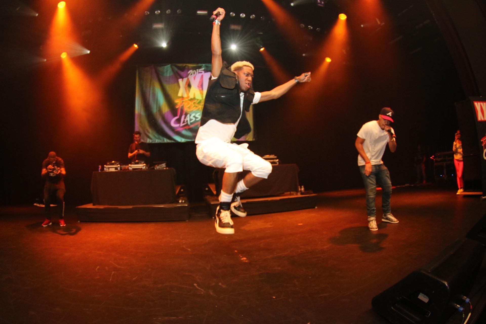 OG Maco on stage