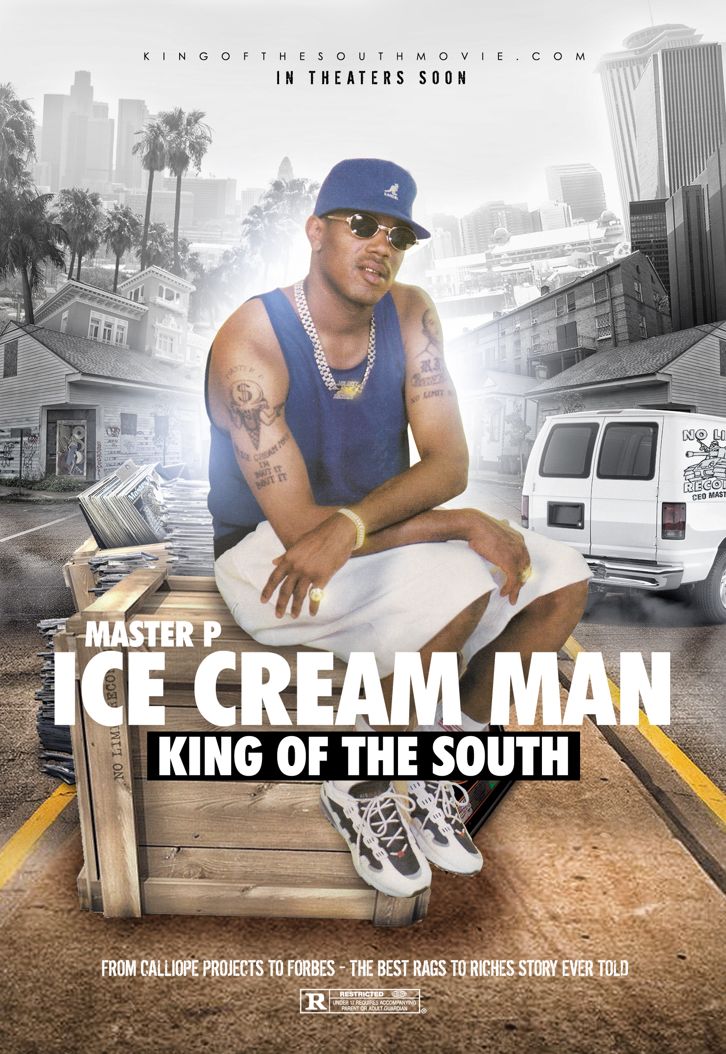 "Ice Cream Man ""King of the South"" The Master P Movie"