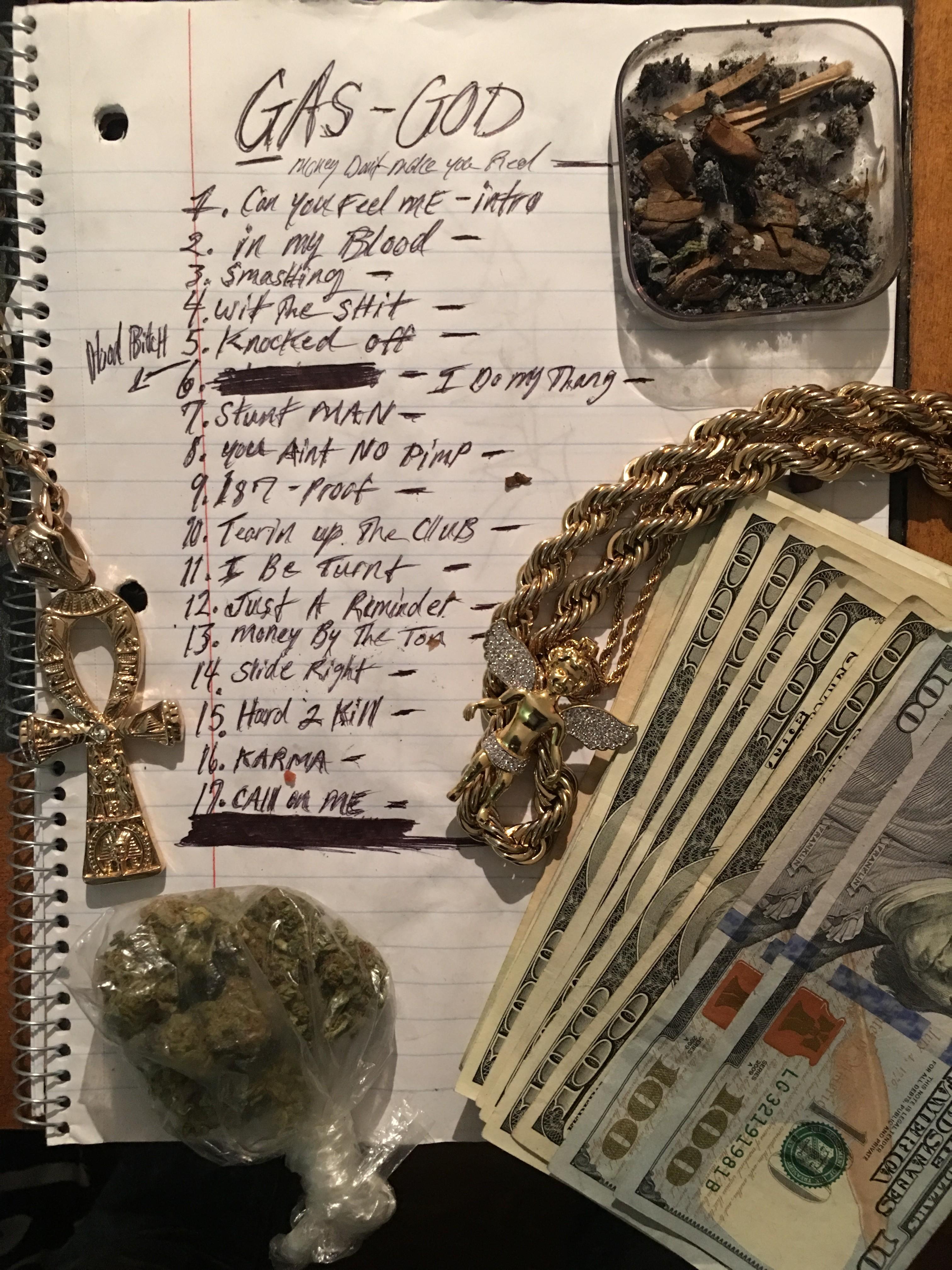 gasgod track list