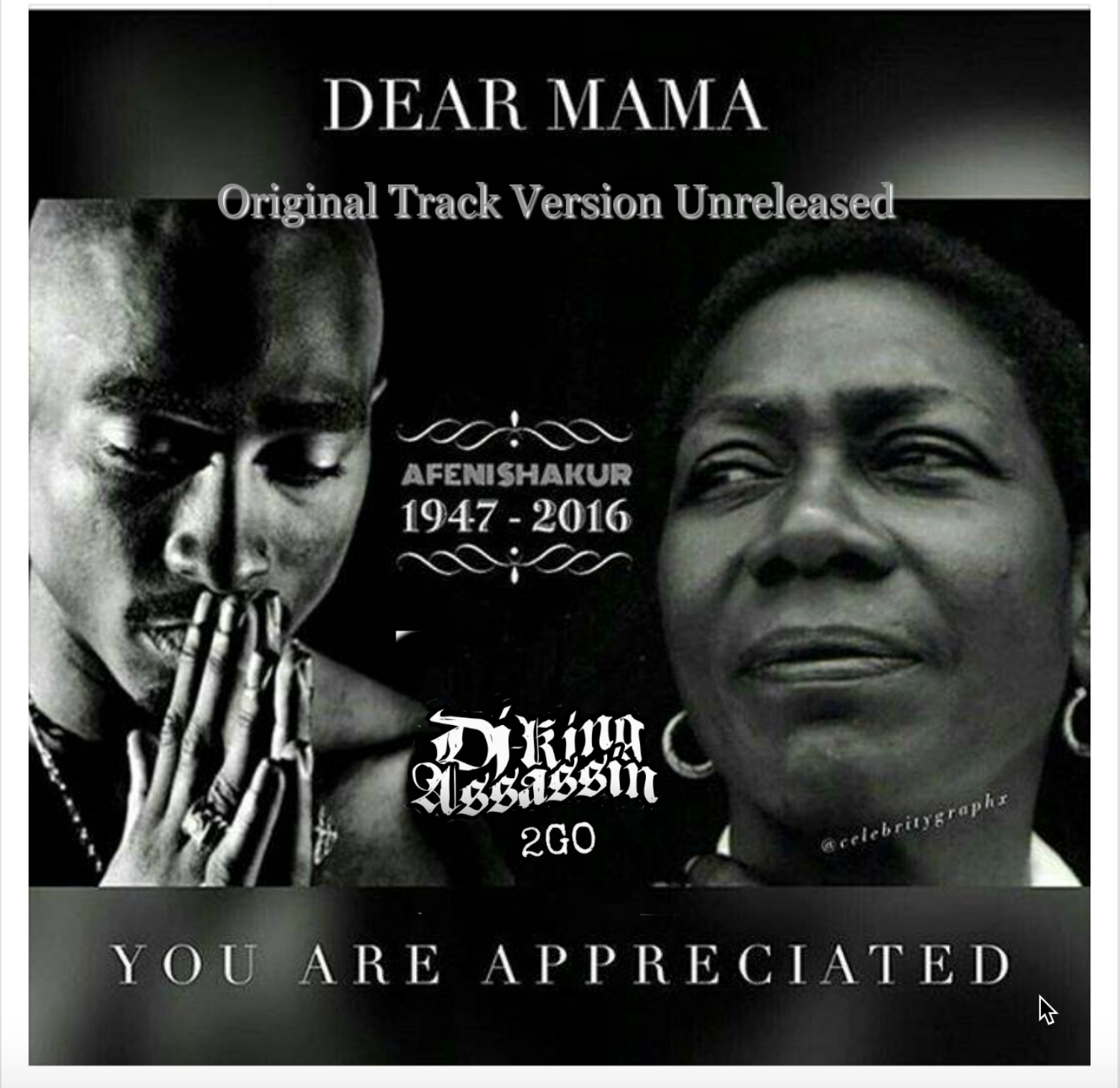Original Dear Mama Artwork