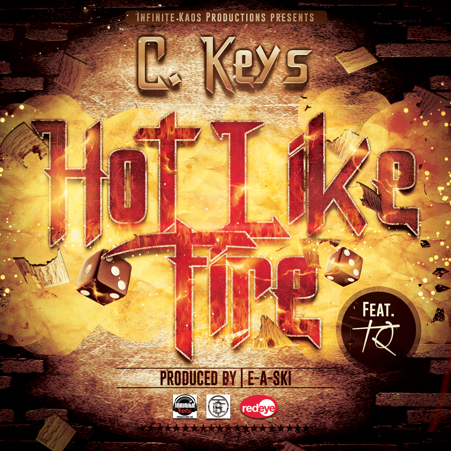 Hot Like Fire Cover