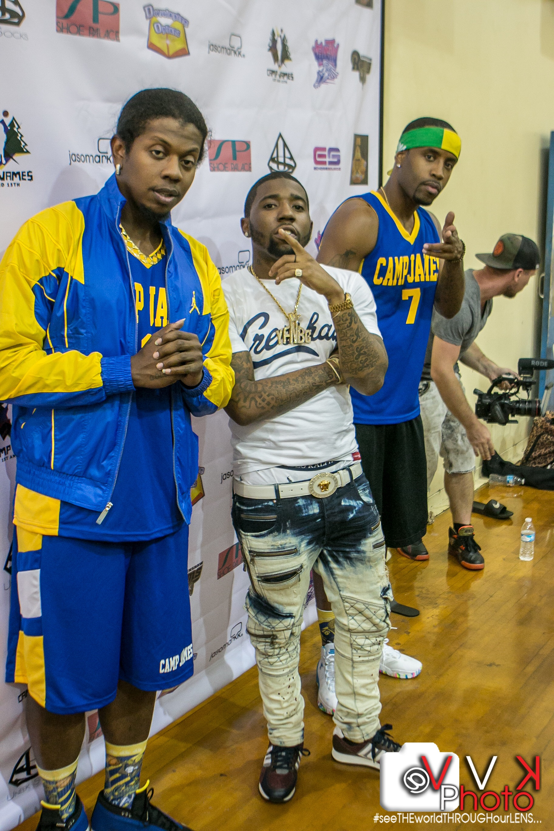 Trinidad James, YFN Lucci, and Safaree