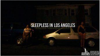 SLEEPLESS IN LOS ANGELES COVER ART